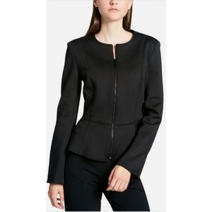 Dkny Jackets & Coats - DKNY Black Peplum Jacket